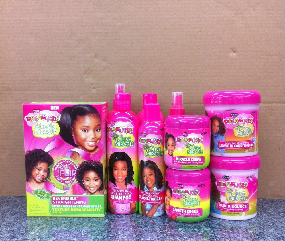 AFRICAN PRIDE DREAM KIDS OLIVE MIRACLE HAIR PRODUCT in 2019 ...