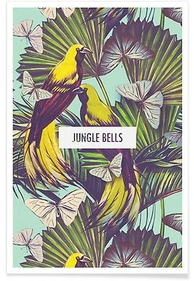 Jungle Bells! - JUNIQE - Affiche premium