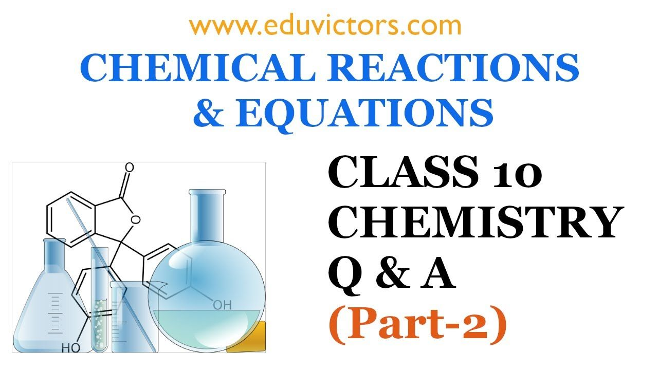 Cbse class 10 chemistry chemical reactions and