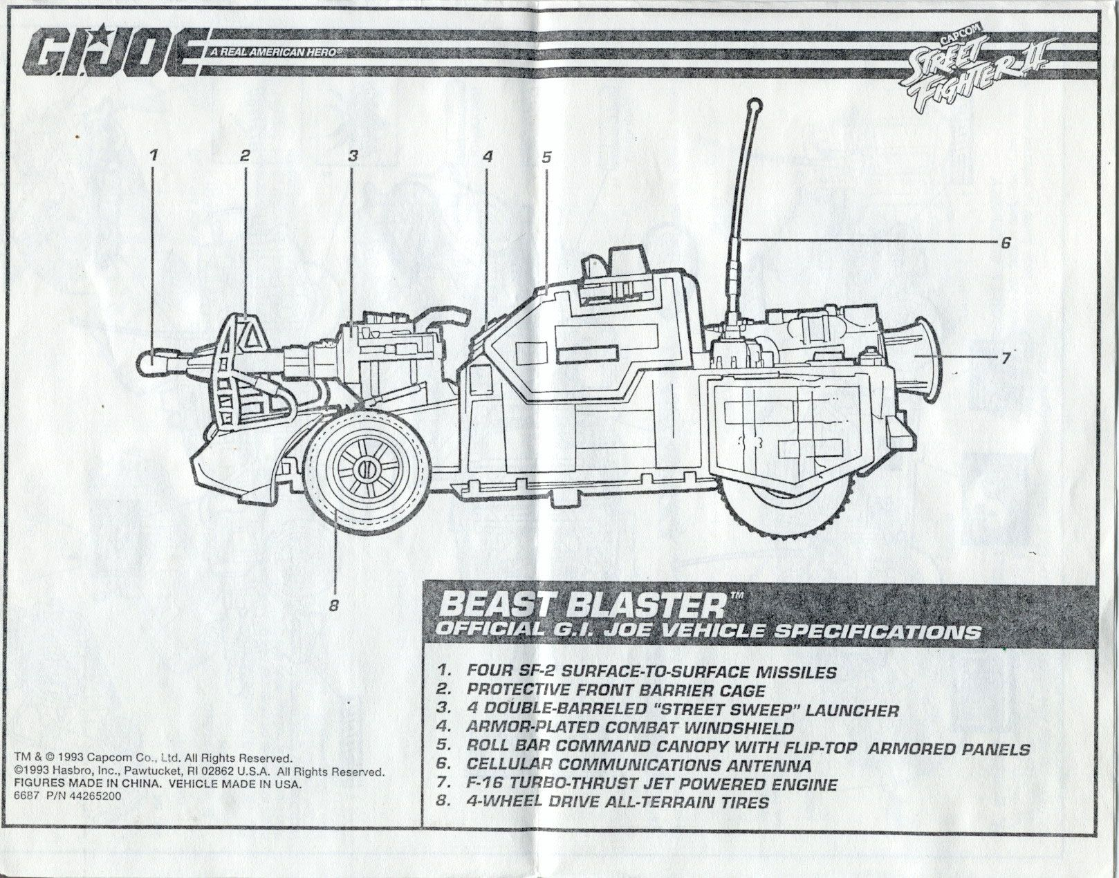 Beast Blaster Blueprint | Blueprints | Pinterest