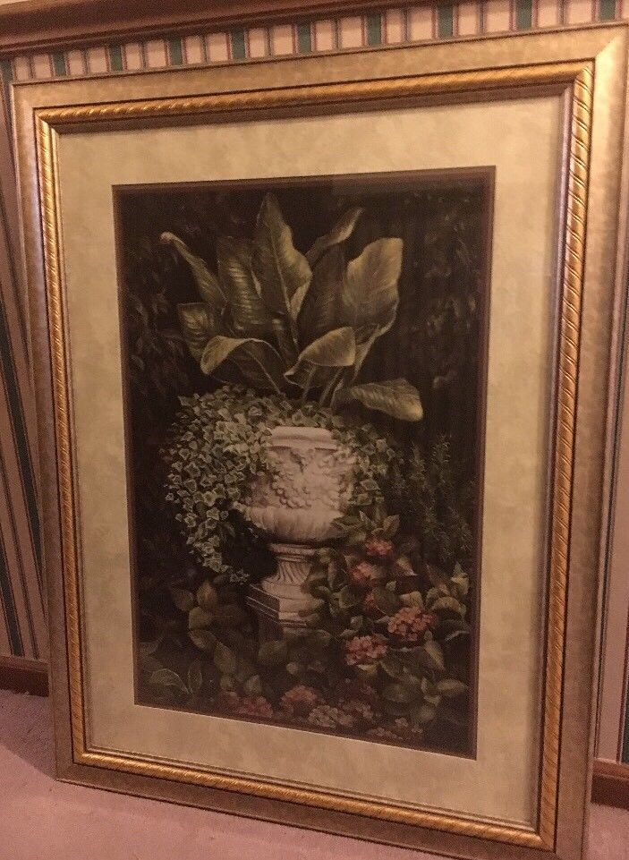 home interiors greenery grandeur picture 31x41 framed art wall