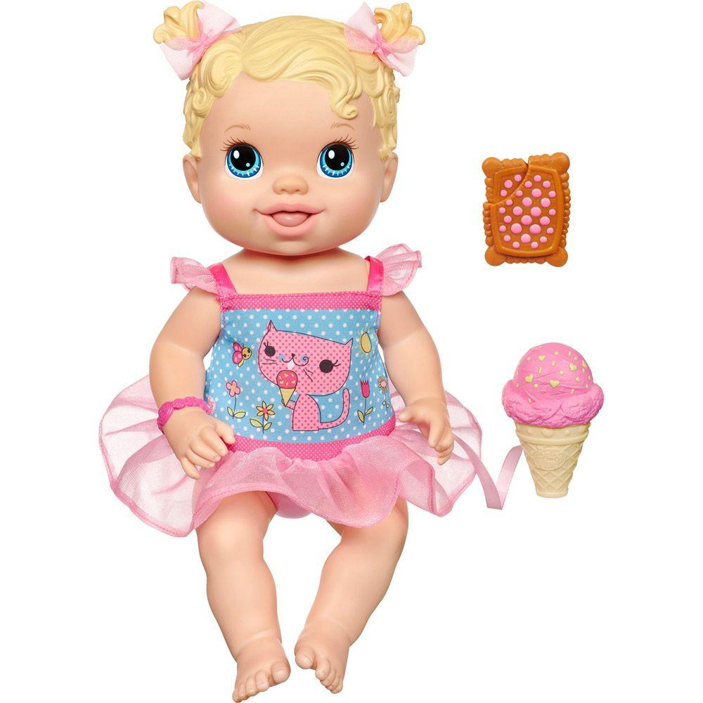 baby alive | Boneca Baby Alive Sorvetinho Loira - Hasbro