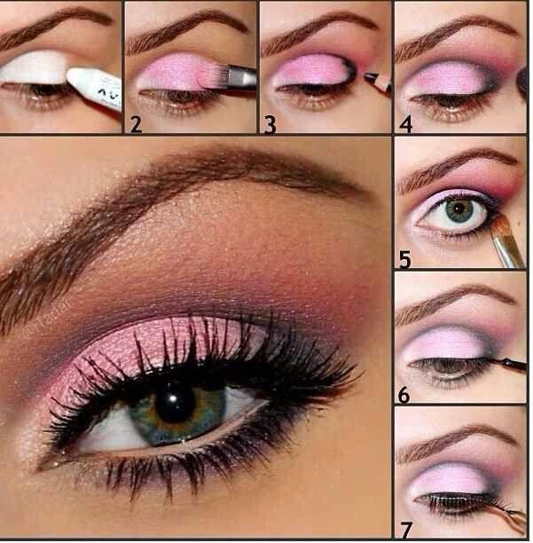 Maquillaje Rosa Para Ojos 161 Dignos De Profesionales