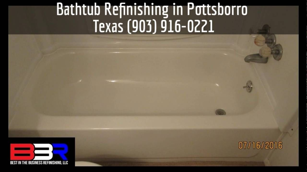 Bathtub Refinishing In Pottsborro Texas (903) 916 0221
