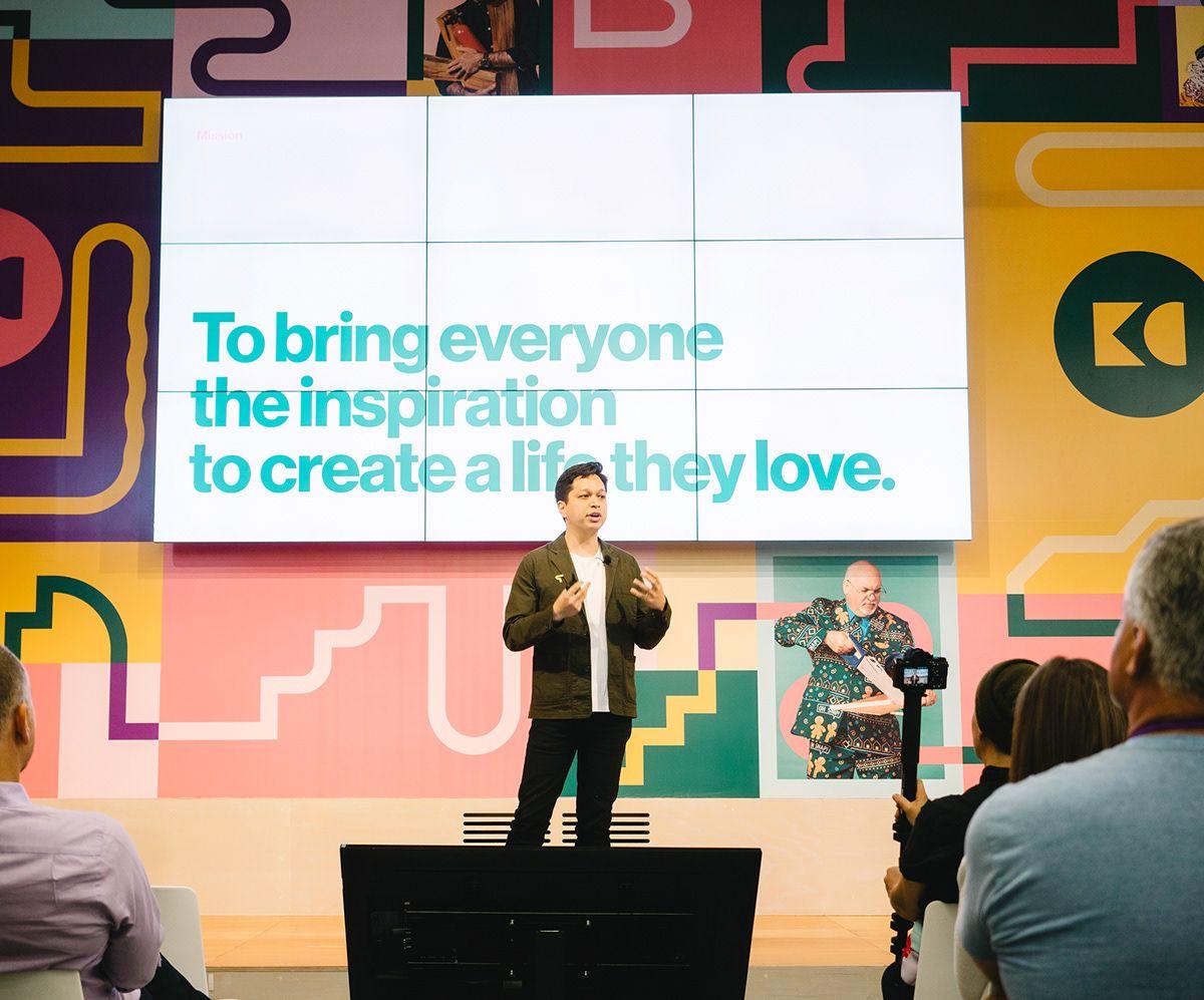 Pinterest Knit Con Event Branding On Behance Event Branding Conference Branding Branding