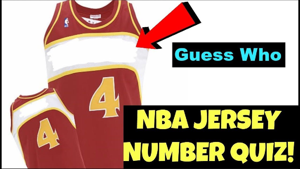 Nba Jersey Quiz Can You Name That Nba Star S Jersey Number Nba Jersey Nba Stars Jersey