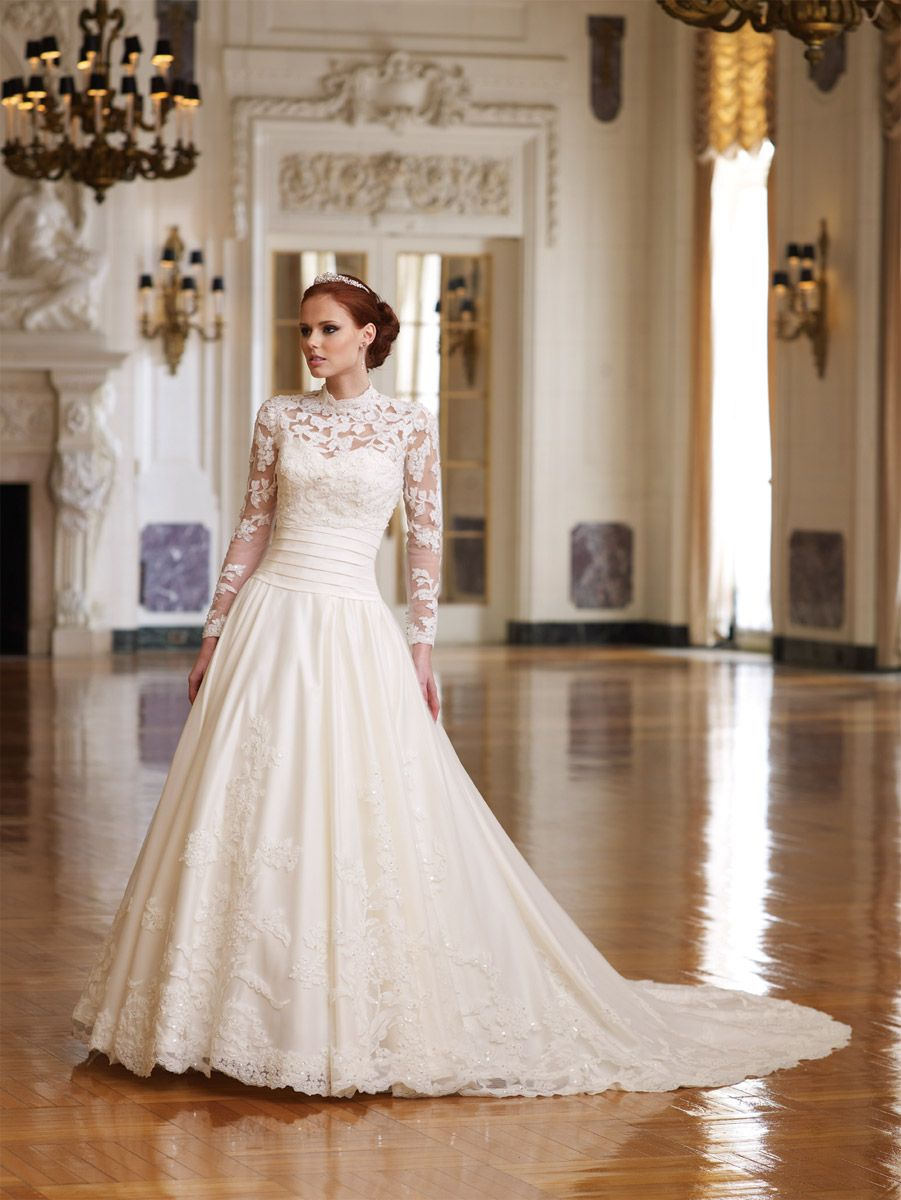 Modest And Elegant Long Sleeve Wedding Dresses