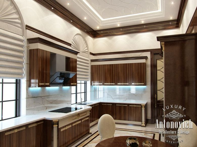 kitchen design in dubai, luxury modern kitchen, photo 2 | bedroom