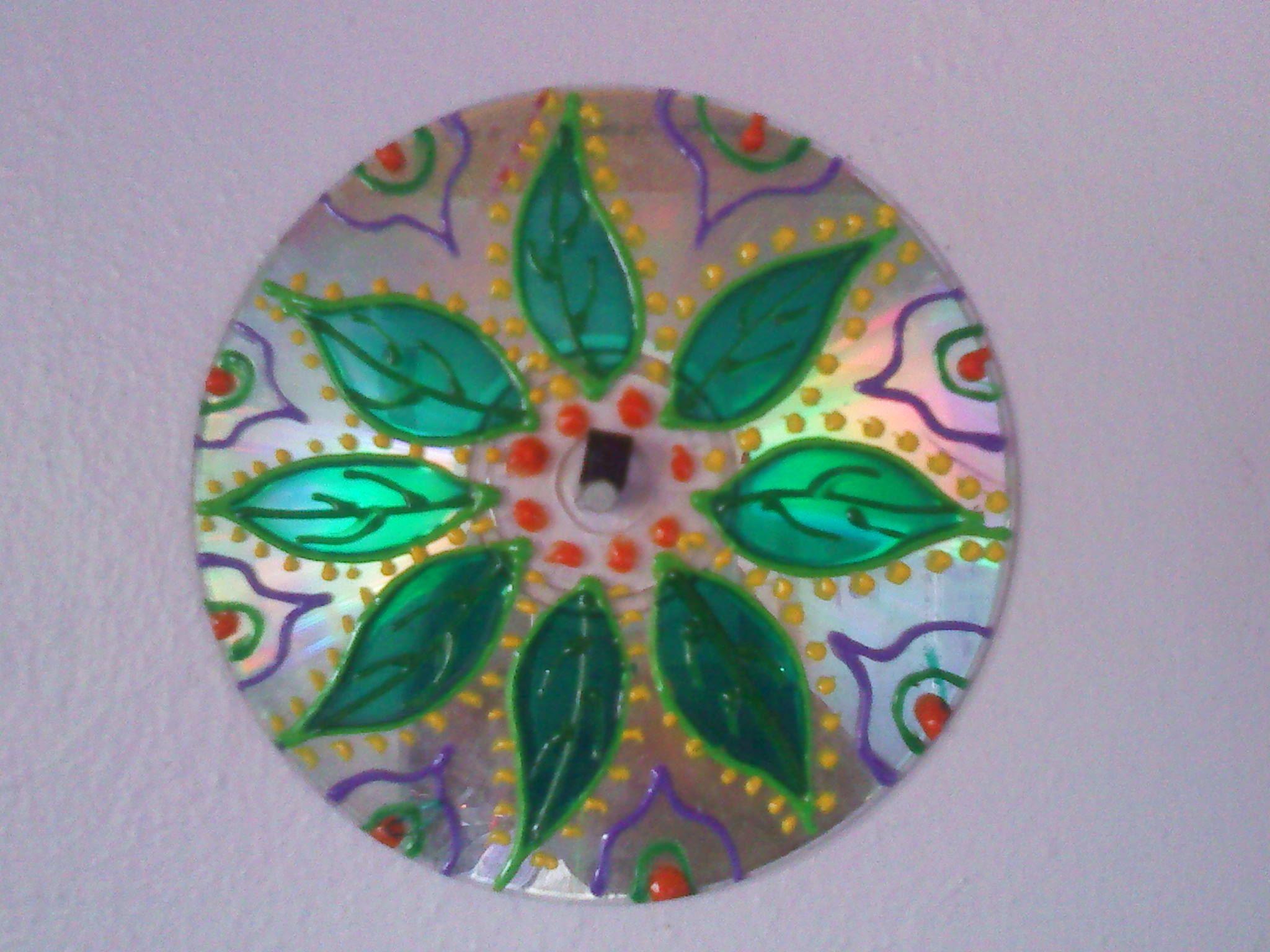 CD pintado
