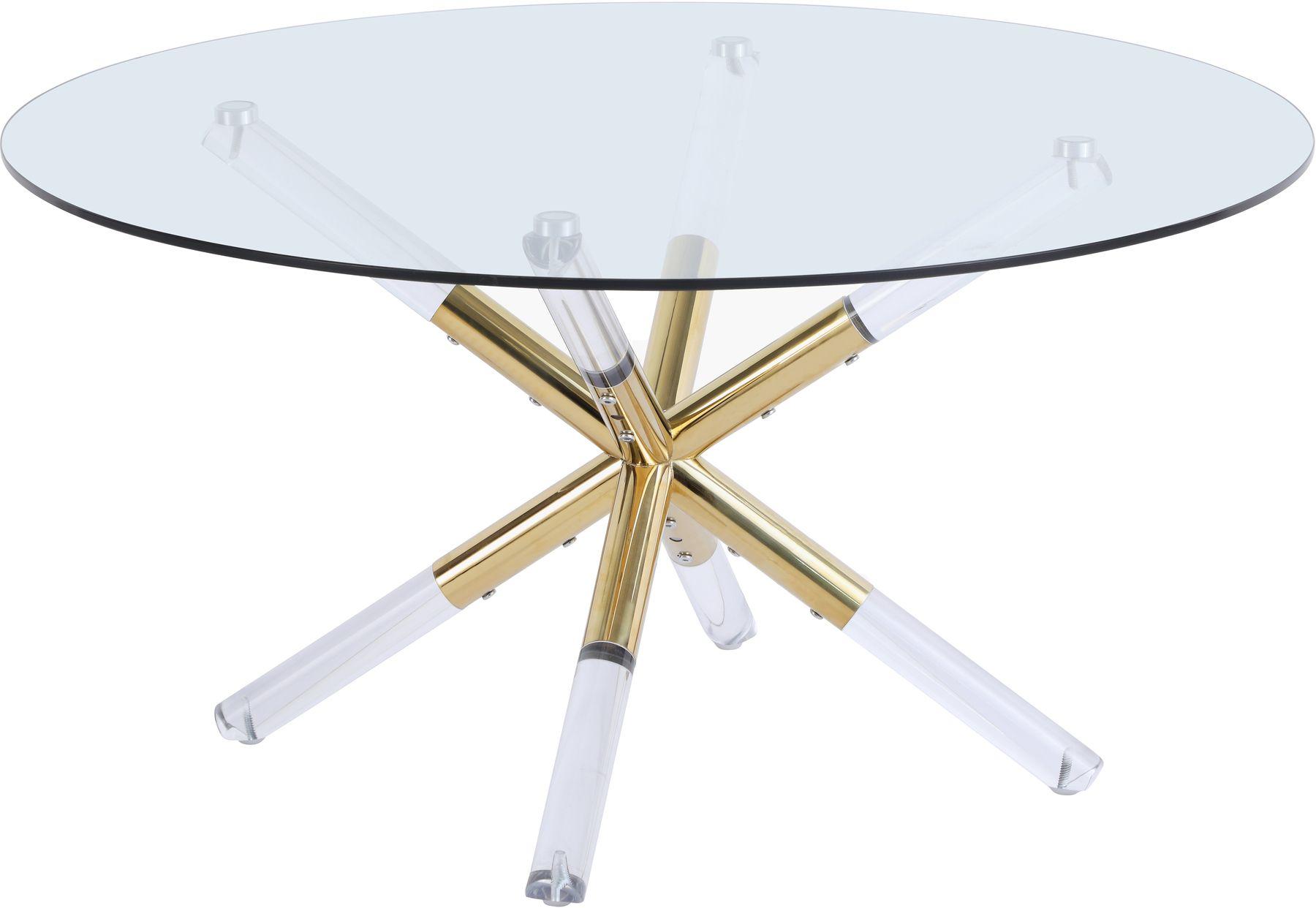 Mercury Coffee Table 284 Meridian Furniture Coffee Tables Gold Coffee Table Tempered Glass Table Top Meridian Furniture [ 1242 x 1800 Pixel ]