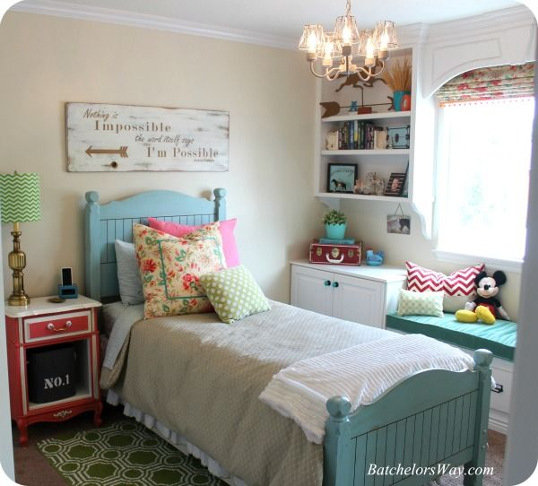 Budget Bedroom Decor: Batchelors Way: Rustic Charm Room Reveal