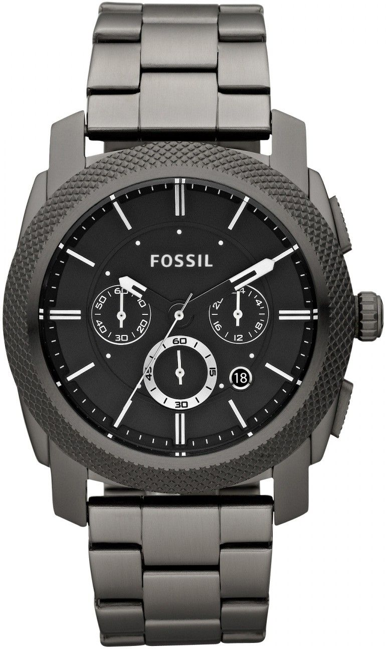 69904720f32 Fossil Men s FS4662 Machine Chronograph Stainless Steel Watch - Smoke. Relogios  HomemRelógios ...