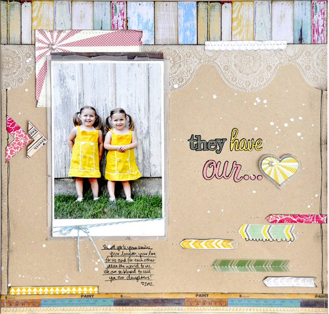 Layout by Jill Cornell using Compositon & Color Collection