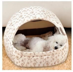 Bedding For Your Adorable Pet Autumn Winter Teddy Small Dog House