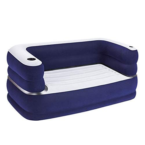 inflatable sofa bed double couple air beds lazy sofa portable rh pinterest com