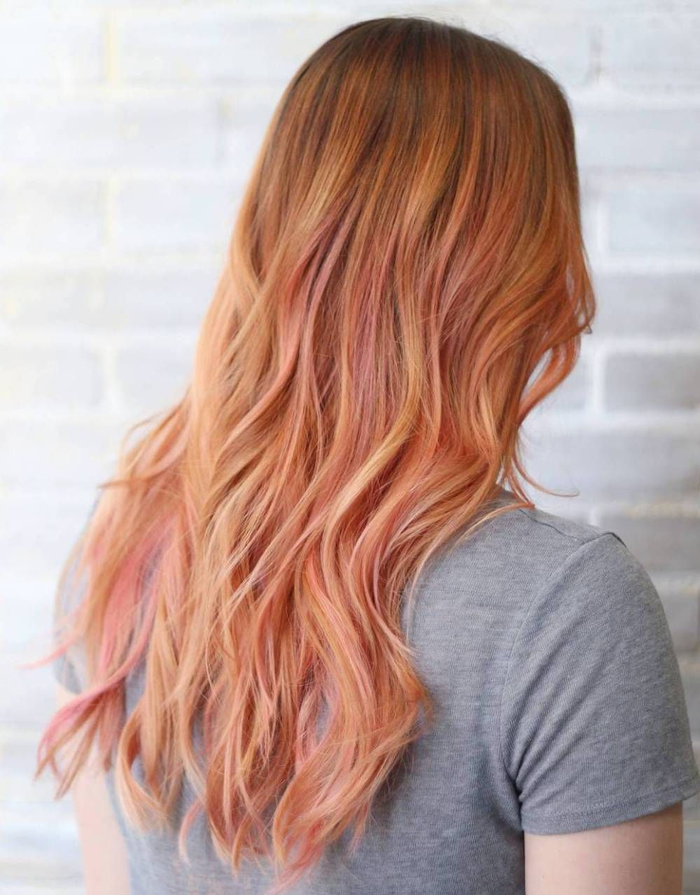 60 Stunning Shades Of Strawberry Blonde Hair Color Pink Highlights