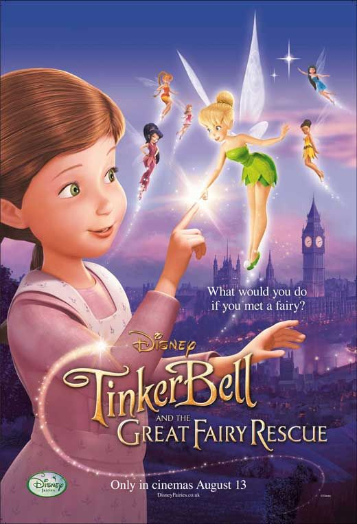Tinker Bell And The Great Fairy Rescue Film Review Cartazes De