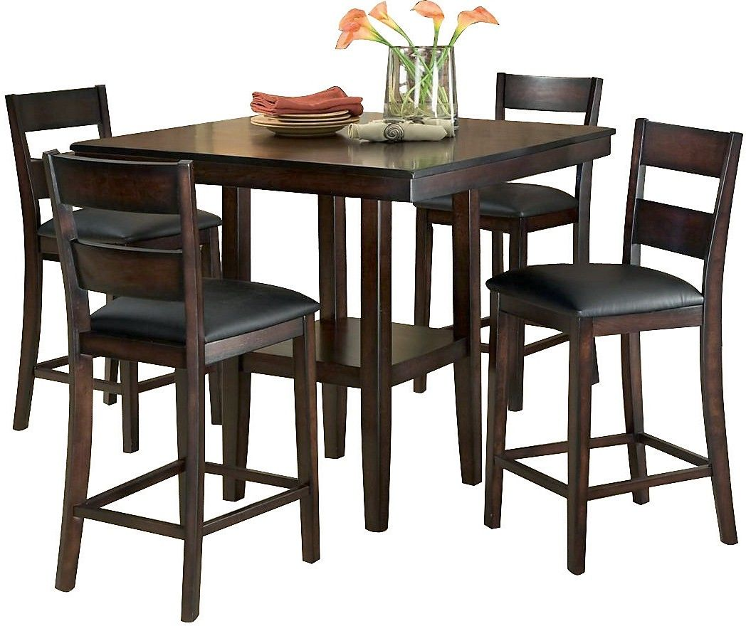 Bon Dining Room Furniture   Mango 5 Piece Dining Package