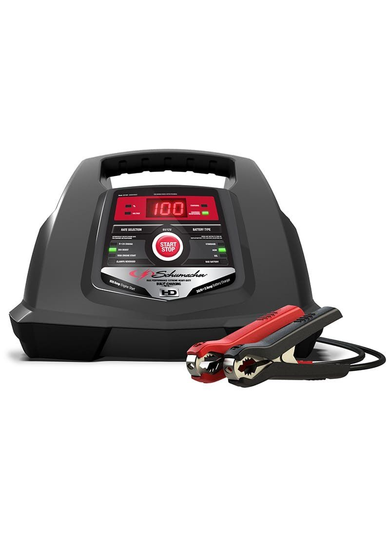 Schumacher SC1281 6/12V Fully Automatic Battery Charger and 30/100A