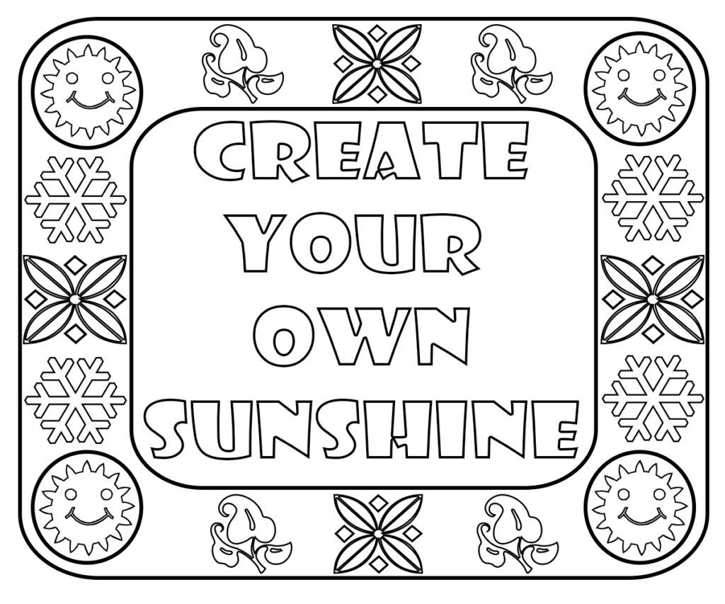 Cute Sayings Coloring Pages | Coloring pages, Free ...