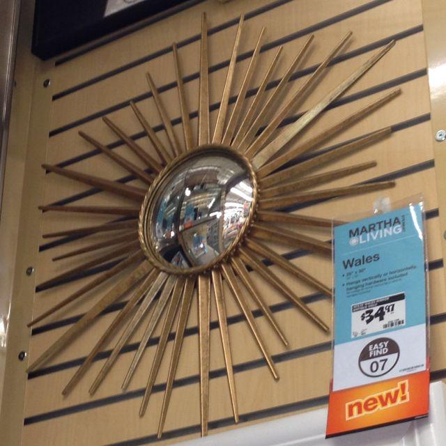 Martha Stewart Starburst Mirror At Home Depot 35 Starburst Mirror Sunburst Mirror Beautiful Bedrooms