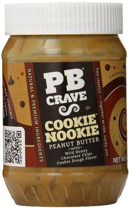 PB Crave Peanut Butter, Cookie Nookie Premium, 16-Ounce