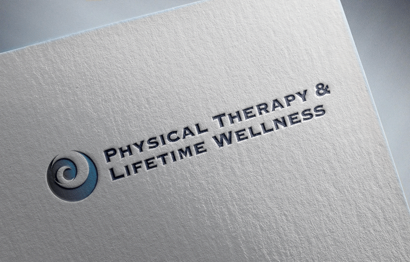 Physical Therapy Logo Design by Green Jeans Creative www