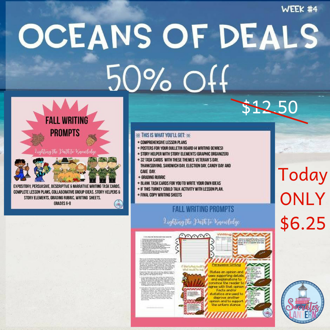 Our Last Deal Is Here Day Only 50 Off My Fall Writing