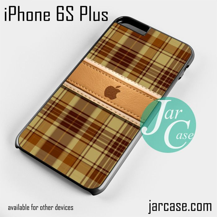 apple brown plate Phone case for iPhone 6S Plus and other iPhone devices