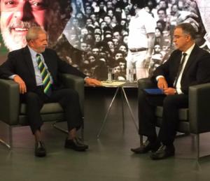 """G.H.: Lula no SBT: """"Eu não temo ser preso"""""""