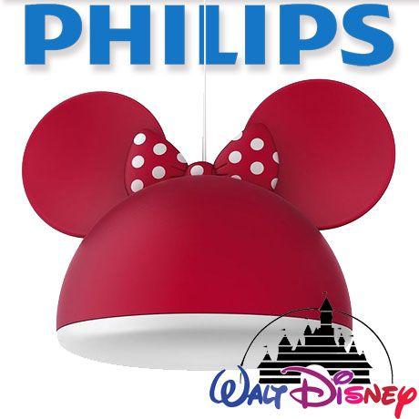 Corp suspendat philips disney minnie mouse e27 home deco pinterest