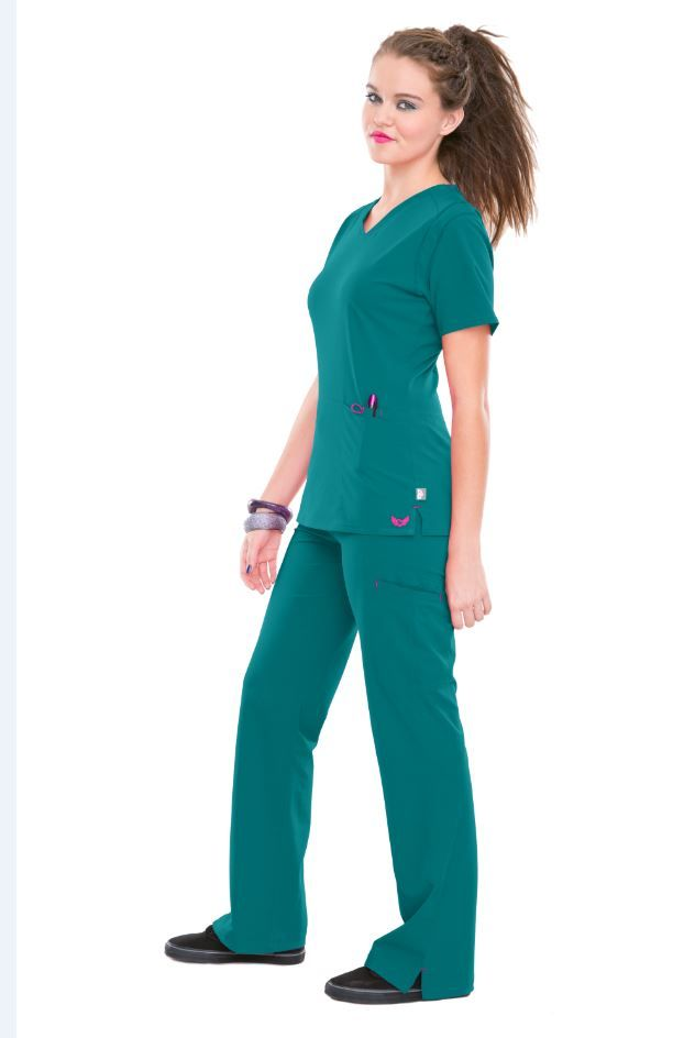 Remember I wear scrubs to work!! No work clothes needed
