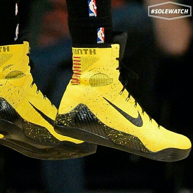 newest d111a 971a2  SoleWatch  Wesley Johnson wearing a  Bruce Lee  Nike Kobe 9 Elite PE.