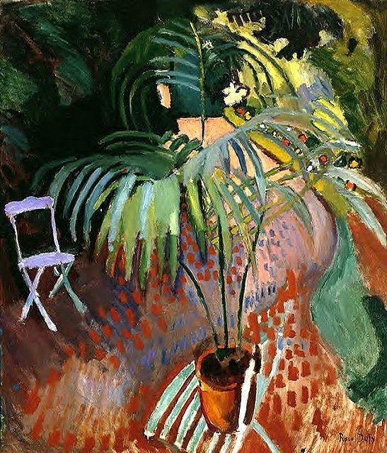 Raoul Dufy, The Small Palm, 1905  via RasMarley