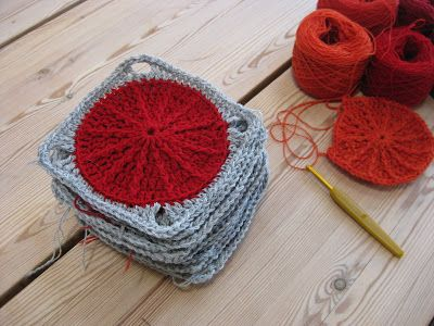 Madam Munch: Et nyt sjal og røde klatter