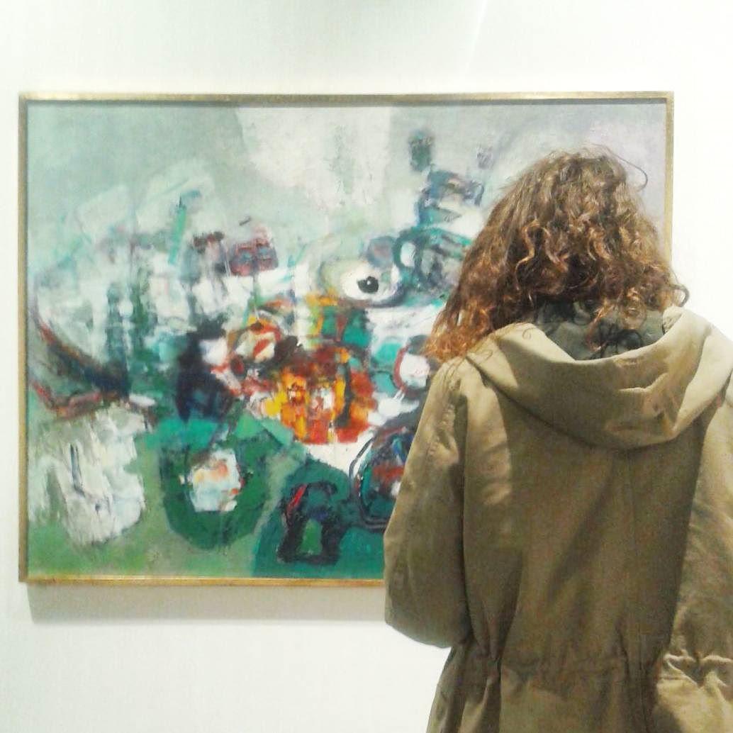 Paese selvatico   Renato Birolli  #art #picture #gallery #exhibition #achilleforti  #verona #inlove #colourful #astrattismo #observing #museum #ribels #wild #palazzodellaragione #modernart by michipony