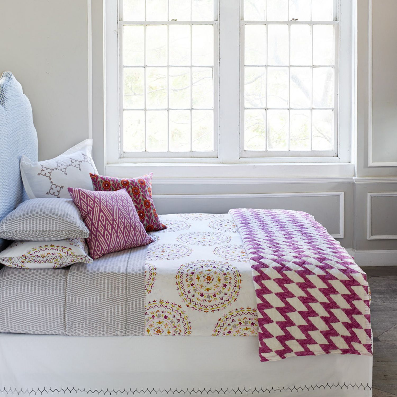 John Robshaw Textiles Patmos Quilts & Shams Bedding