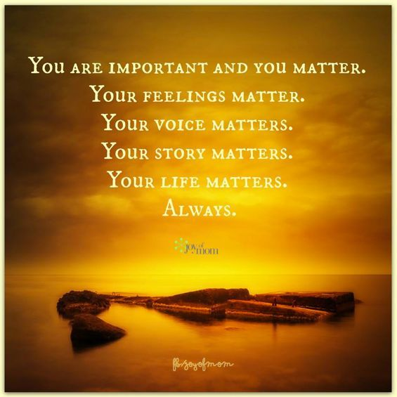 You Are Important in the Symphony of Life