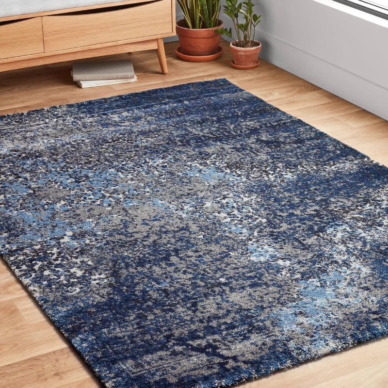 Pin By Mel Coutinho On Dark Blue Rug In 2020 Area Rugs Dark Blue Rug Transitional Area Rugs