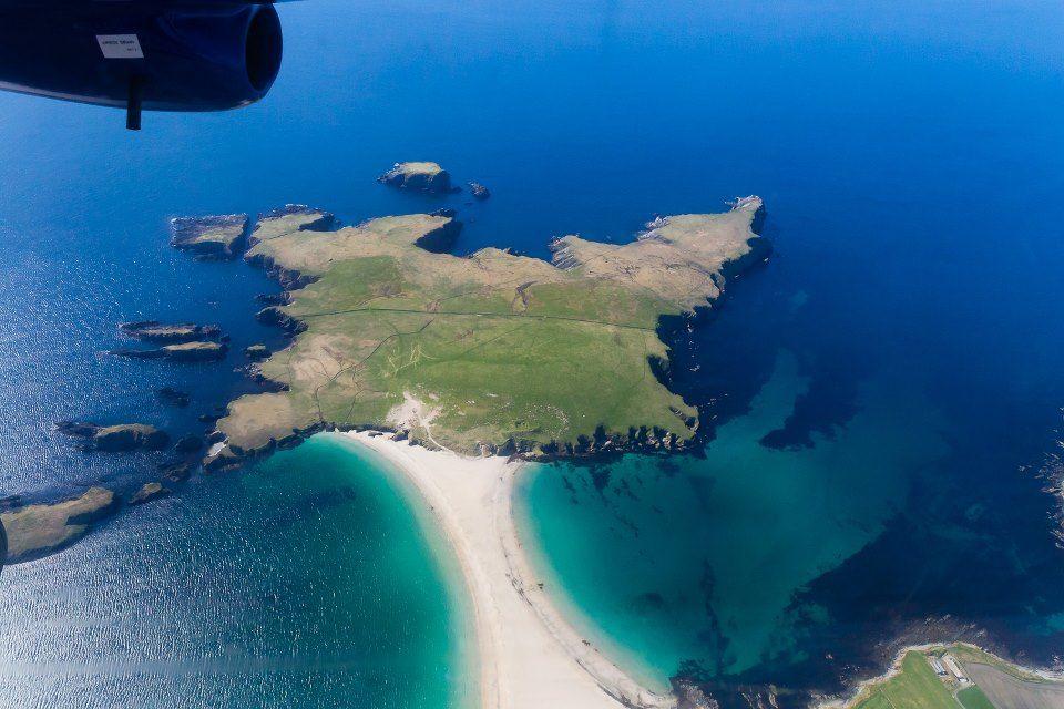 st. ninian's island shetland