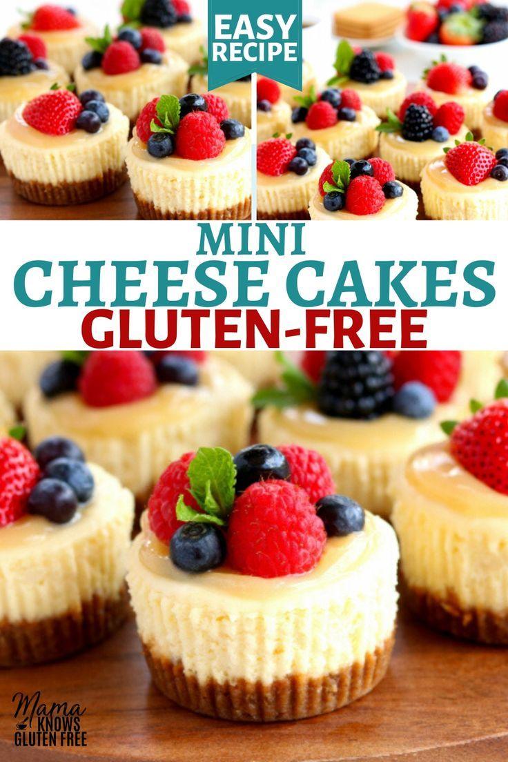 Gluten-Free Mini Cheesecakes