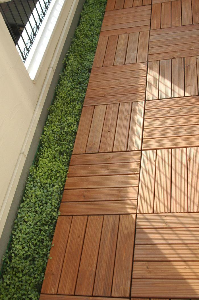 ベランダの床 バルコニーのデザイン マンションのバルコニー装飾