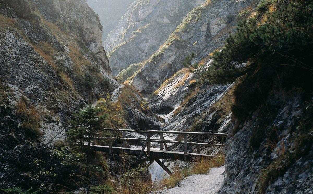 Brücke in der Aschauer Klamm | Tagesausflug, Wandern ...