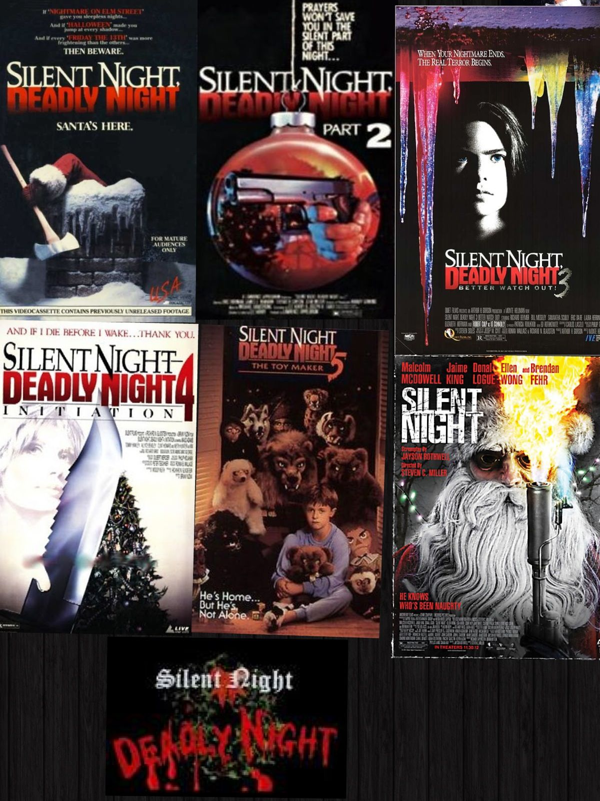 Silent Night Deadly Night Movies Christmas Horror Silent Night Christmas Movies