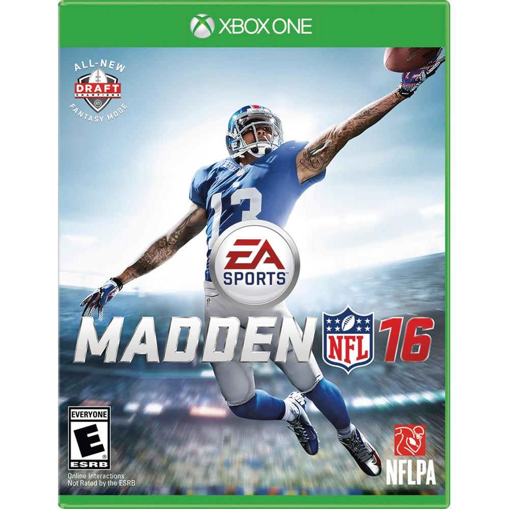 Madden NFL 16 (Xbox One), Video Games Madden nfl, Nfl