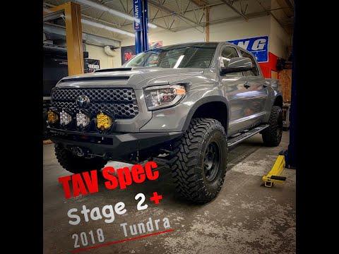 TAV Spec Stage 2 2018 Tundra - YouTube