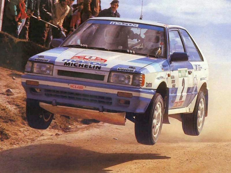 mazda 323 4wd 1988. | Mazda Motorsports | Pinterest | Mazda, Rally ...