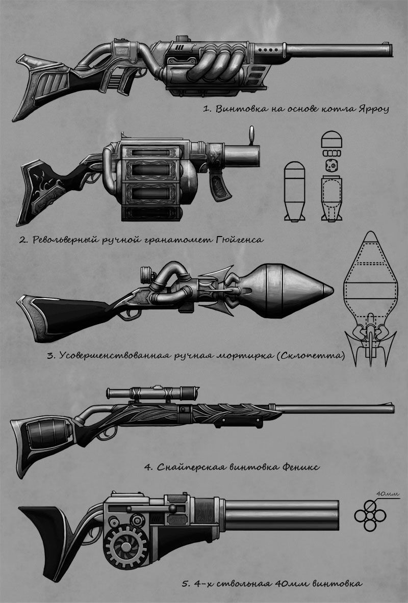 Pin By Cody Ferrier On Inspiring Ideas Steampunk Weapons