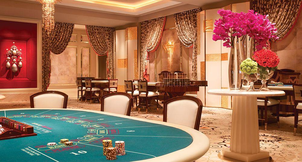 Wynn Baccarat Table Games Wynn Las Vegas Casino Resort