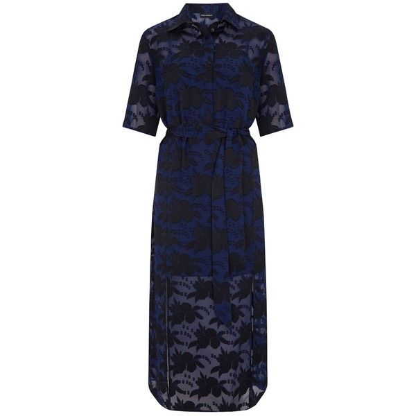 17d7e2fe27015 Lace sleeves velvet dress 3085 BRL liked on Polyvore featuring